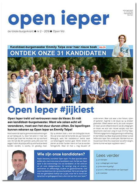 Open Ieper Burgerkrant September