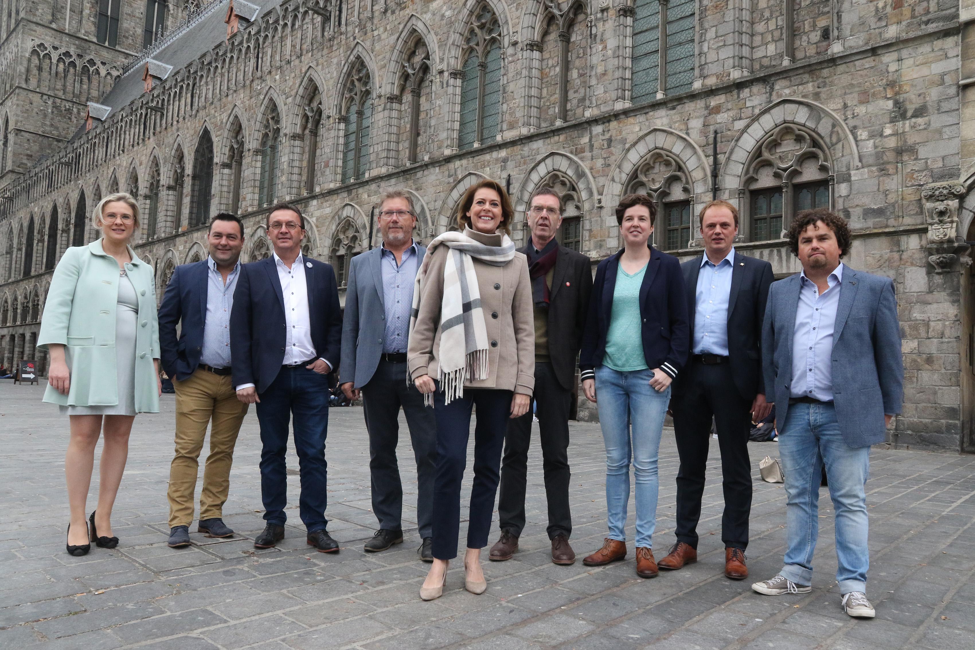 Guido Allossery, kandidaat voor de gemeenteraadsverkiezingen voor Open Ieper